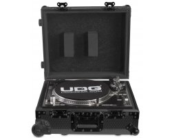 UDG Ultimate Flight Case Multi Format Turntable Black MK2 Plus
