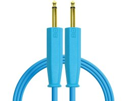 DJ TechTools Chroma Cable 6,3 TRS-TRS Blue