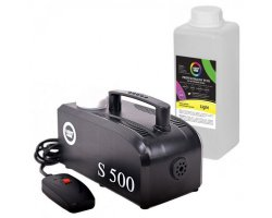 LIGHT4ME S 500 smoke generator 500W + LIQUID 1L