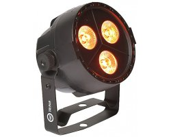 LIGHT4ME TRI PAR 3x3W LED RGB strong mobile Black