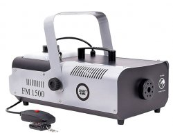 LIGHT4ME FM 1500 smoke generator with remote control