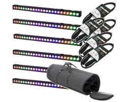 LIGHT4ME PIXEL BAR 24x3W MKII LED STRIP SET3