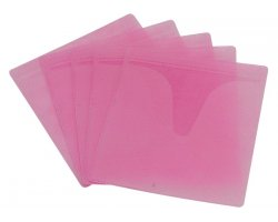 Zomo CD Sleeves 100 Pieces Pink