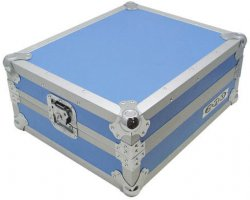 Zomo T-1 Turntable Flightcase Blue