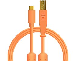 DJ TechTools Chroma Cable USB C na USB B Orange