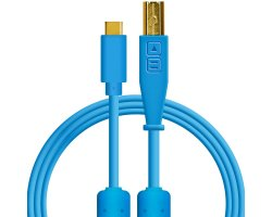 DJ TechTools Chroma Cable USB C na USB B Blue