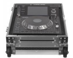 UDG Ultimate Flight Case Multi CDJ/MIXER II Silver Plus (Trolley&Wheels)