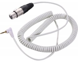 Zomo HD-120 Spiral Cable White