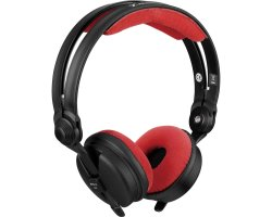 Zomo Earpad Set VELOUR for Sennheiser HD 25 Red