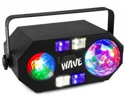 BeamZ LEDWAVE Jellyball, Water Wave a UV efekt