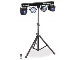 BeamZ Party BAR 2x LED PAR 12x1W RGBW + 2x Derby 4x1W RGBW