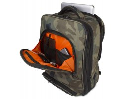 UDG Ultimate Backpack Slim Black Camo, Orange inside
