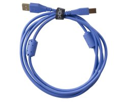 UDG Ultimate Audio Cable USB 2.0 A-B Blue Straight 1m