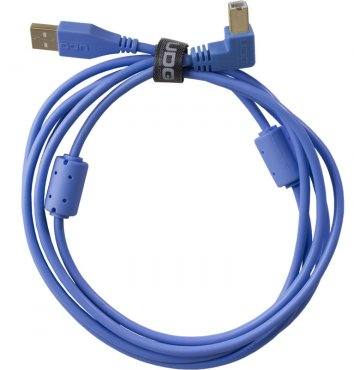 UDG Ultimate Audio Cable USB 2.0 A-B Blue Angled 2m
