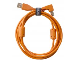 UDG Ultimate Audio Cable USB 2.0 A-B Orange Angled 2m