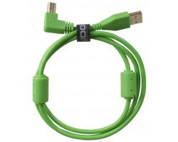 UDG Ultimate Audio Cable USB 2.0 A-B Green Angled 1m