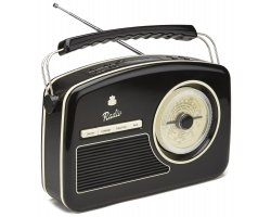 GPO Rydell 4 Band Radio black