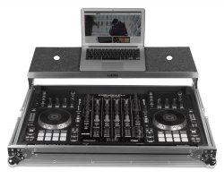 UDG Ultimate Flight Case Multi Format XXL Silver Plus (Laptop Shelf, Trolley + Wheels)