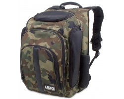 UDG Ultimate DIGI Backpack Black, Camo/Orange Inside