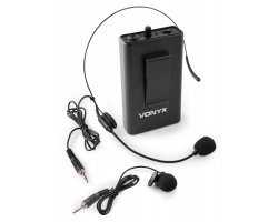 Vonyx BP10 Bodypack Microphone SET 863.1MHZ