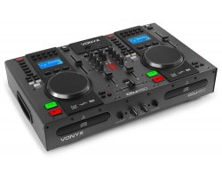 Vonyx CDJ450 Twin Top CD/MP3/USB Player/Mixer With BT