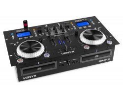 Vonyx CDJ500 Amplified Double Player CD/MP3/USB/BT
