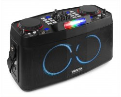 Vonyx CDP800 Portable DJ Entertainment System