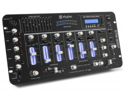 Skytec STM-3007 6-Channel Mixer SD/USB/MP3/LED/BT 19""