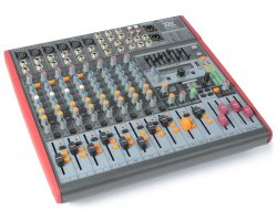 Power Dynamics PDM-S1203 Stage Mixer 12-Channel DSP/MP3 USB IN/OUT
