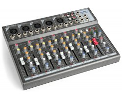 Vonyx VMM-F701 7-Channel Music Mixer