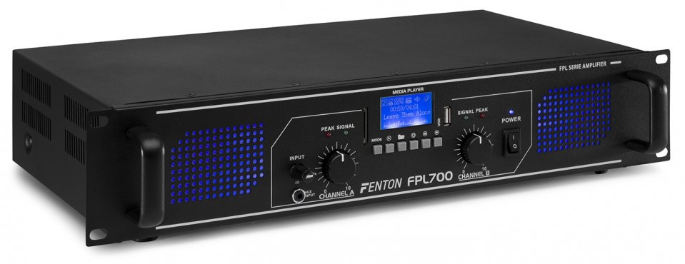 Fenton FPL700 Digital Amplifier Blue LED + EQ