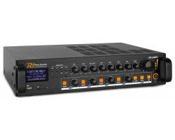 Power Dynamics PDV120MP3 PA Mixer Amplifier 120W/100V 4 Zones