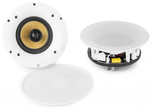Power Dynamics WCS50 WIFI/BT Amplified Ceiling Speaker Set 5.25""