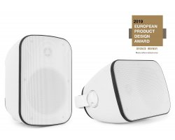 Power Dynamics BD50W In/Outdoor Speaker Set White 120W