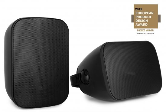 Power Dynamics BD65B In/Outdoor Speaker Set Black 150W