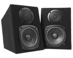 Fenton DMS40 DJ Monitor Speakers 2X100W (SET)