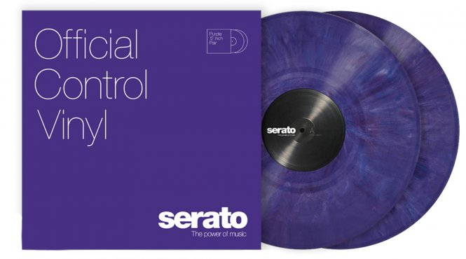 Serato Performance vinyl Purpl