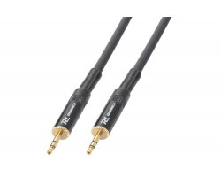 Power Dynamics CX88-1 Cable 3.5mm Stereo Male - 3.5mm Stereo Male 1.5M