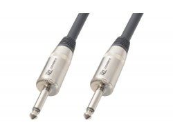 Power Dynamics CX29-6 Speaker Cable 6.3M - 6.3M/M 6M Black
