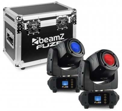 BeamZ Fuze75S Spot 2pcs in FC 75WLED Mov.
