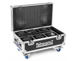 BeamZ FCC66 Flightcase For 6X BBP66 Uplights With Charging