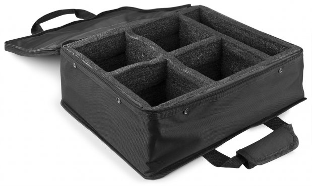 BeamZ AC-460 Soft Case 4 Uplights BBP96