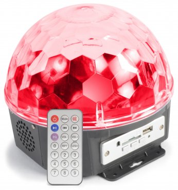 MAX Magic Jelly Ball 6x 1W LED SD / USB / MP3