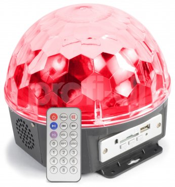 MAX Magic Jelly Ball 6x 1W LED SD / USB / MP3 B-stock