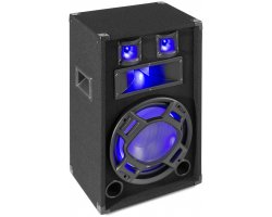 "Max BS12 Black PA Speaker 12"" LED 600W"