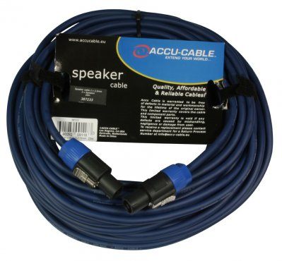 Accu Cable AC-SP2-2,5/20