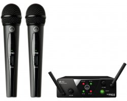 AKG WMS40 Mini2 Vocal Set Dual ISM2/3
