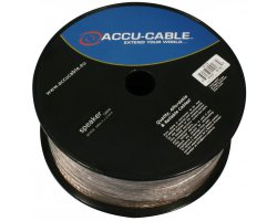 Accu Cable AC-SC2-2,5/100R-T Speaker cable 2x2,5mm