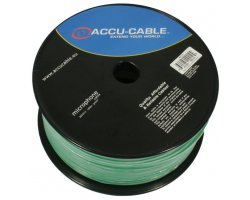 Accu Cable AC-MC/100R-G Microcable roll 100m, green