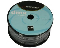 Accu Cable AC-DMX3/100R DMX cable on Roll 3 cond